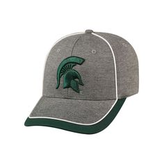 87bf6aea79527 Adult Top of the World Michigan State Spartans Memory Fit Cap