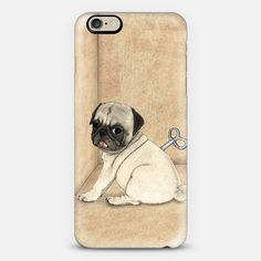 Toy Dog; Pug by Barruf. Make yours and get $10 off using code: S29WXC #case #dog #accessories #custom #pug