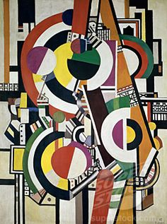 The Disks by Fernand Leger, 1918, 1881-1955, France, Paris, Musee National dArt de Moderne (1158-1500 © Peter Willi)
