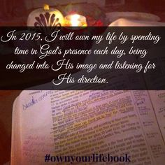 How will you own your life in 2015? #ownyourlifebook #sallyclarkson