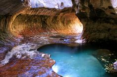 Subway, Zion National Park, UT