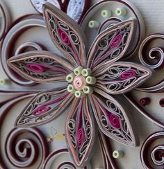 Neli Quilling Art: Quilling cards - flower