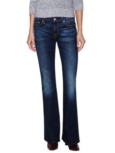 """A"" Pocket Flare Leg Jean by 7 for All Mankind at Gilt"