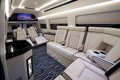 These Insane, Pimped-Out Vans for CEOs Redefine Commuting - Bloomberg Business