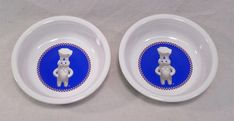 Fiesta® PILLSBURY DOUGHBOY Medium Bowls made by Homer Laughlin China Company in 2004 and 2005 | WorthPoint