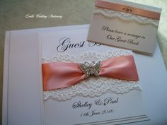 English Country Weddings, Country Style Wedding, Butterfly Wedding, Message Card, Wedding Guest Book, Wedding Stationery, Quilling, Wedding Styles, Swarovski Crystals