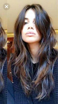 Cut My Hair, Long Hair Cuts, Her Hair, Brown Blonde Hair, Brunette Hair, Medium Hair Styles, Curly Hair Styles, Aesthetic Hair, Great Hair
