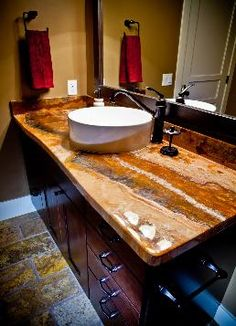 this is going to be my new bathroom..love it!! Home - DIY concrete and epoxy countertops and epoxy flooring