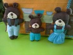 Boucle d'or et les 3 ours par Karine - Ma cour de ré-création