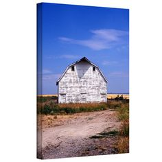 @Overstock.com - Kathy Yates 'Old White Barn' Gallery-Wrapped Canvas - Artist: Kathy YatesTitle: Old White BarnProduct type: Gallery-wrapped canvas  http://www.overstock.com/Home-Garden/Kathy-Yates-Old-White-Barn-Gallery-Wrapped-Canvas/8021730/product.html?CID=214117 $65.99
