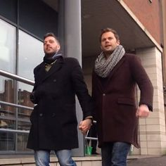 """Watch: Straight guys hold hands, discover homophobia exists 