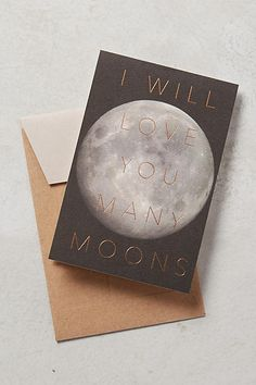 Modern Lore Many Moons Card #AnthroFave
