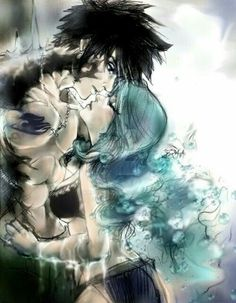 Fairy Tail has stolen my heart and revived the poor dead thing. Here's Juvia and Gray; Fairy Tail Gray, Fairy Tail Love, Fairy Tail Nalu, Fairy Tail Funny, Fairy Tail Ships, Manga Anime, Fanarts Anime, Fairytail, Jerza