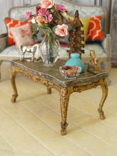 French Chic Miniature by maritza miniatures