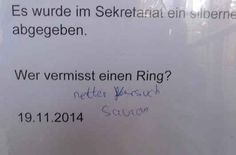 """""""Netter Versuch, Sauron"""""""