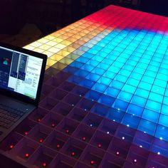 #ledwall #ledscreen #v1.1 #rgb #led #arduino #teensy #diy #diyproject #electronics by rensenotenboom