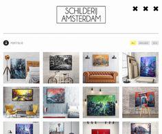 De nieuwe look van www.schilderijamsterdam.nl