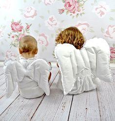 Skrzydełka Anielskie z bawełny, uniwersalne i trwałe. Do zabawy, przytulania, latania, ozdoby domu na święta :)