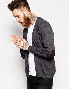 ASOS Cardigan with Patch