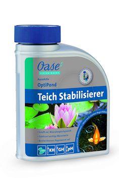 OASIS Water Treatment Aqua Activ OptiPond 500ml, silver