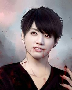BTS (방탄소년단) Fanart Vampire (BY JAEMRX)