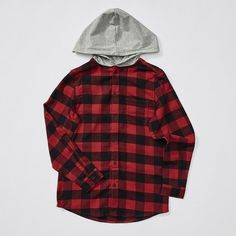 536d816d7 Australian Grown Cotton Hooded Flannelette Shirt Shirts For Teens Boys, Boys  Shirts, Flannelette Shirt