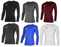 Today's Deal: Sondico Base Core Long Sleeve Base Layer – Black/Grey Marl/Maroon/Navy/Royal/White http://dailygolfdeal.co.uk/deals/deals/sndcbslyr/
