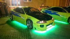 The fast and The furious eclipse replica