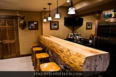I love this bar! Spagnolodesign.com