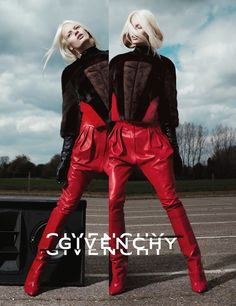 Stef van der Laan for Givenchy Fall 2012. Photographed by Mert & Marcus and styled by Carine Roitfeld.