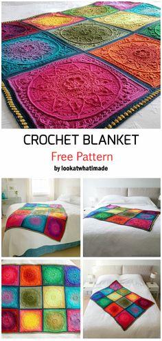 Crochet Sophie's Dream Blanket - Free Pattern Crochet Kids Hats, Crochet Baby Booties, Baby Blanket Crochet, Crochet Blankets, Afghan Crochet Patterns, Crochet Patterns For Beginners, Baby Knitting Patterns, Crochet Afghans, Diy Crochet Projects