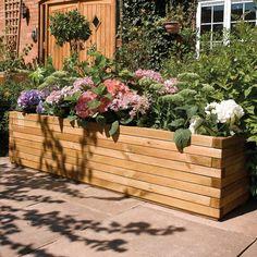 Rowlinson Rectangular Raised Garden & Reviews | Wayfair