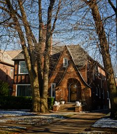 Gladys Knight's old home, 16860 La Salle Ave., Detroit, MI | Flickr - Photo Sharing!