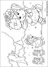 Vintage Barney Coloring Book 80 Barney and Friends coloring