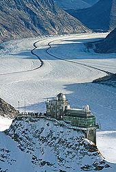 Sphinx Jungfraujoch 0470 - Jungfraujoch railway station in the Alps