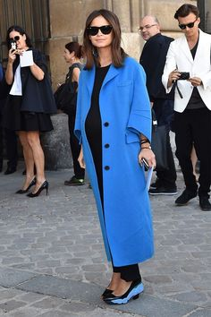 This is not your mom's baby-bump fashion: http://lcknyc.com/1prEzT8