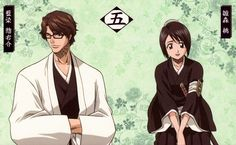 Squad 5 Sosuke Aizen x Momo Hinamori {Jordan and I will be cosplaying these two in a couple weeks.}