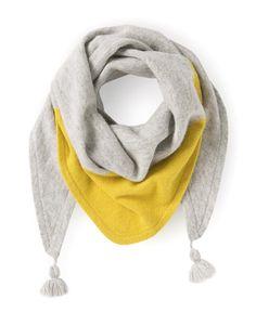 Bandana Knit Scarf