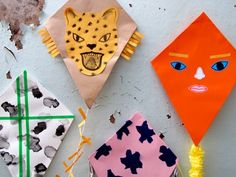 Learn how to make cute wall kites with Alice Oehr at one of our Finders Keepers workshops!