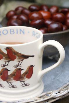 Robin mug.