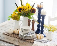 A fall table complet