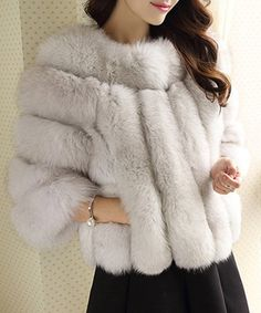 Cheap faux fur coat, Buy Quality women faux fur coat directly from China fur coat Suppliers: New Arrival Women Faux Fur Coat 2016 Fashion Style Winter Imitation Fox Fur Coat Brand Ladies Warm Outerwear Plus Size Cool Girl Style, Glam Style, Faux Fur Stole, Fur Cape, Fox Fur Coat, African Fashion Dresses, Fur Fashion, Chic Outfits, Mantel