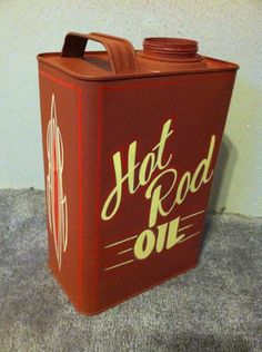 Hot rod oil pinstriped by Humble Beast