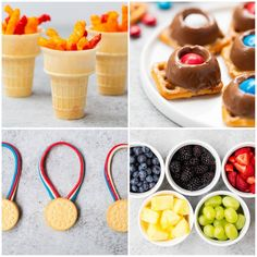 Olympic party snack ideas and desserts on iheartnaptime.net