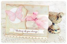Thinking of you card  By: Carolyn Peeler