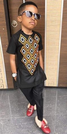 Ankara Styles For Kids, African Wear Styles For Men, African Dresses For Kids, African Clothing For Men, Couples African Outfits, Latest African Fashion Dresses, African Shirts For Men, African Men Fashion, African Attire