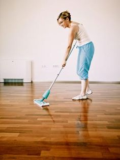 6 Natural Wood Floor Cleaners  -- Learn more about non-toxic, Earth-friendly options to clean your floor