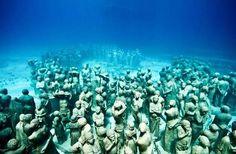 Onderwatersculpturen van Jason De Caires Taylor.