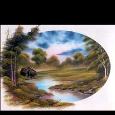 a bob ross painting
