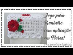 JOGO DE BANHEIRO CAPA PARA CAIXA ACOPLADA - YouTube